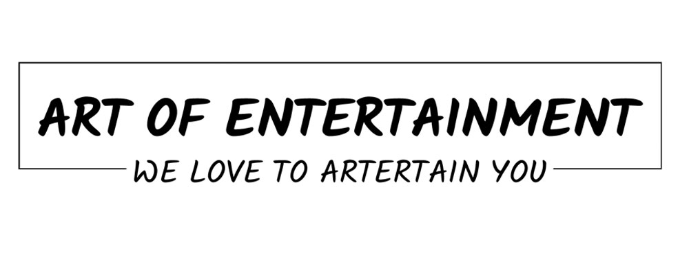 Art of Entertainment website screenshot