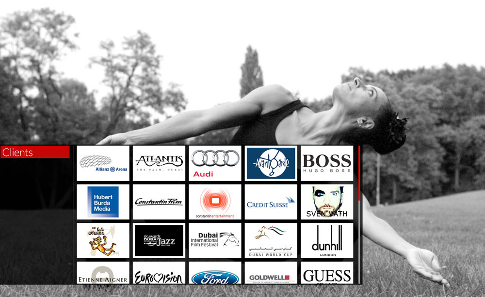 International Choreographer website screenshot